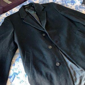London Fog Wool Overcoat